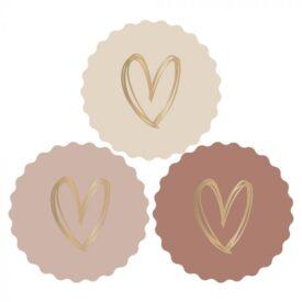Sluitzegels Multi heart