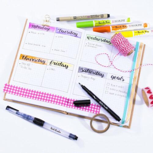 Bullet notebook journal - Vaessen Creative