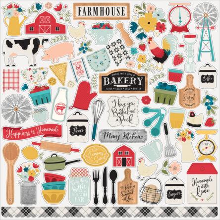 Stickervel – Farmhouse Kitchen