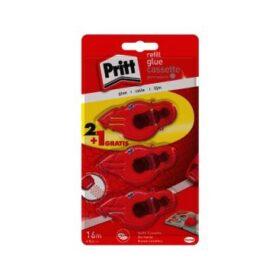 Lijmroller Pritt navulcassette permanent 2+1 gratis