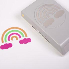 Regenboog figuurpons