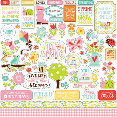 Stickervel – Spring Fling