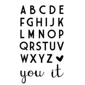 Vaessen Creative - Love It alfabet snijmal