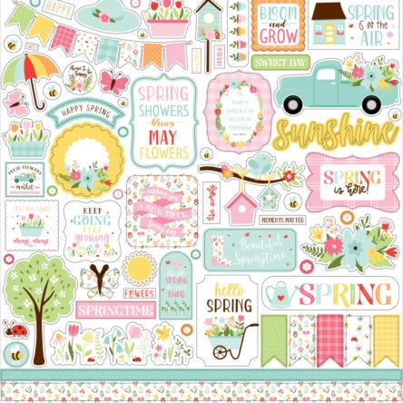 Stickervel – Welcome Spring