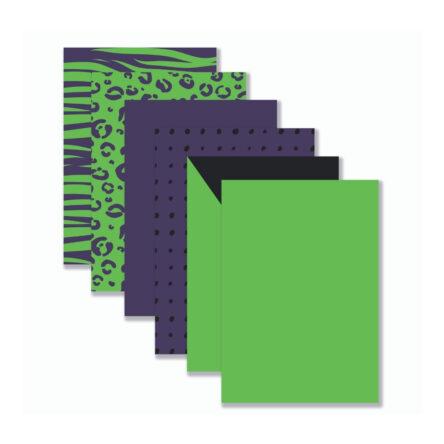 Achtergronden Groen/paars/zwart