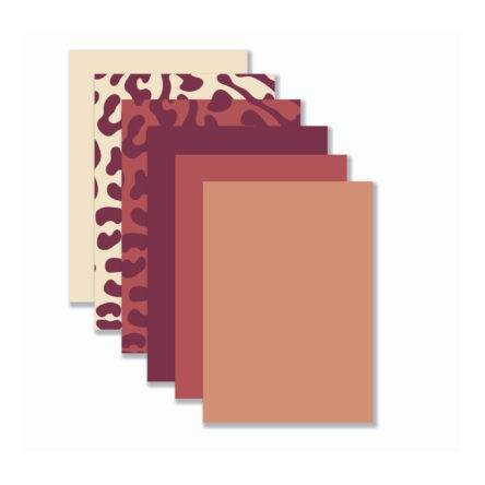Achtergronden Warme Tinten Rood (12 stuks)