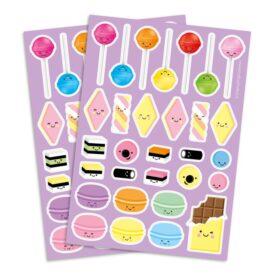 sweets stickervel