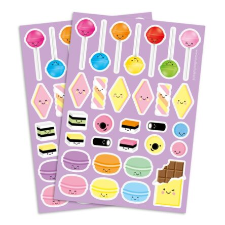 Sweets & Candy | Stickervel A5
