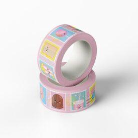 Postzegel washi tape