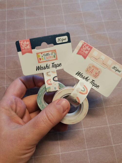 Regenboog Washi Tape