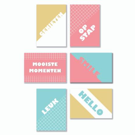 Quote Cards – Algemeen 8 stuks
