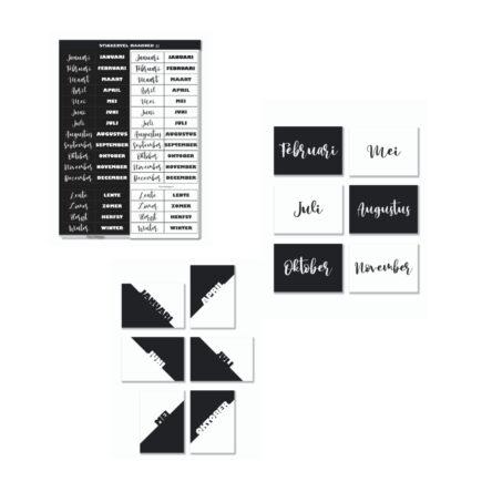 Productbundel 'Maanden II'