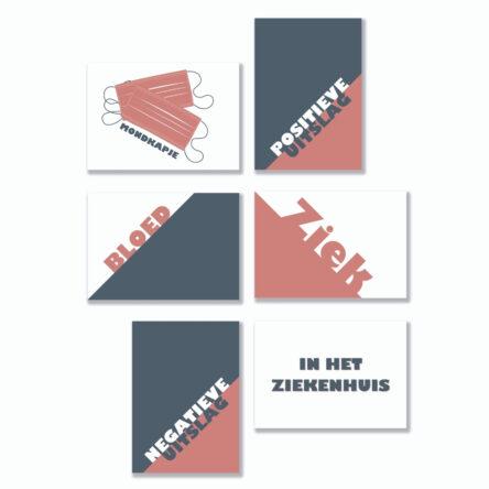 Quote Cards – Medisch 6 stuks