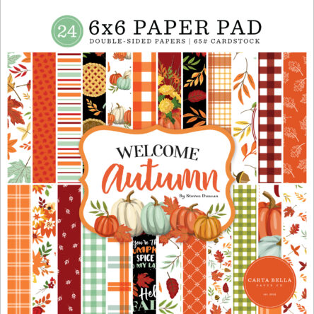 Paper pad – Welcome Autumn