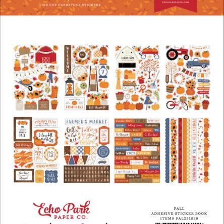 Fall Sticker Book – 16 vellen