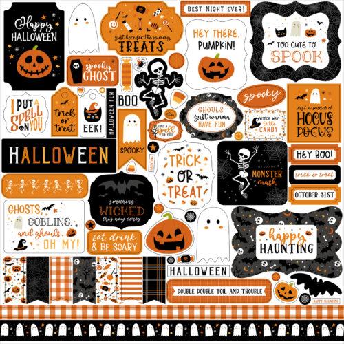 Halloween stickervel