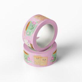 Thee en Cookie Washi Tape